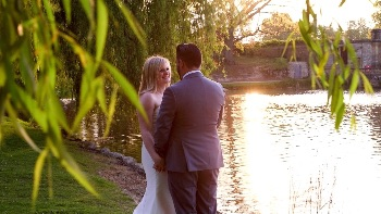 Alex and Grant's wedding at Hever Castle