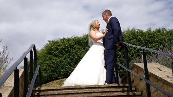 Joanne and Donal's wedding photo shoot at Calverley Grounds, Tunbridge Wells