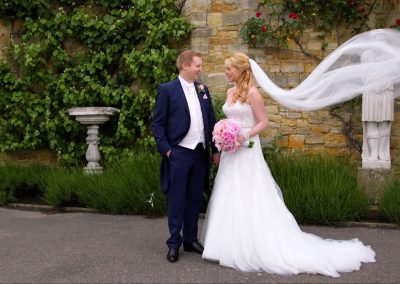 Abi and Ed in Hever Castle Gardens