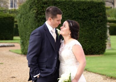 Aimee and Mike get close up at Eastwell Manor