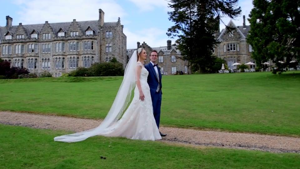 Wedding Films at The Ashdown Park Hotel – Samantha and James