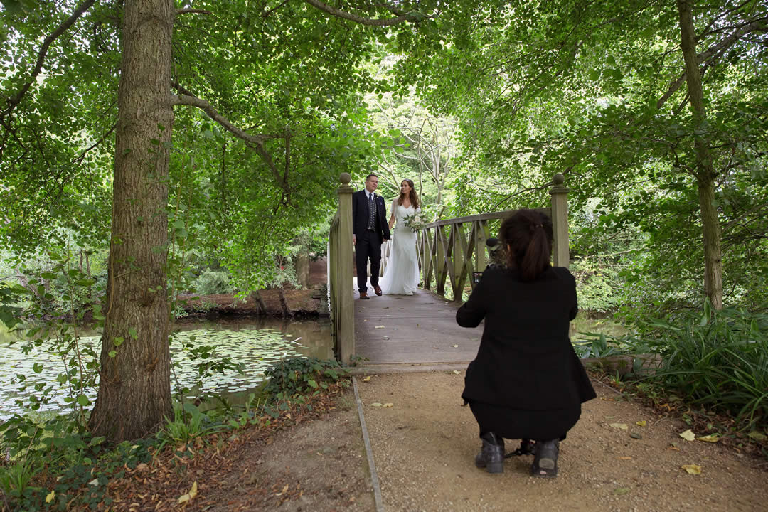 Wedding video film in East Sussex and Kent by Carol Navis of Cut Above Productions - Photograph by Helen England