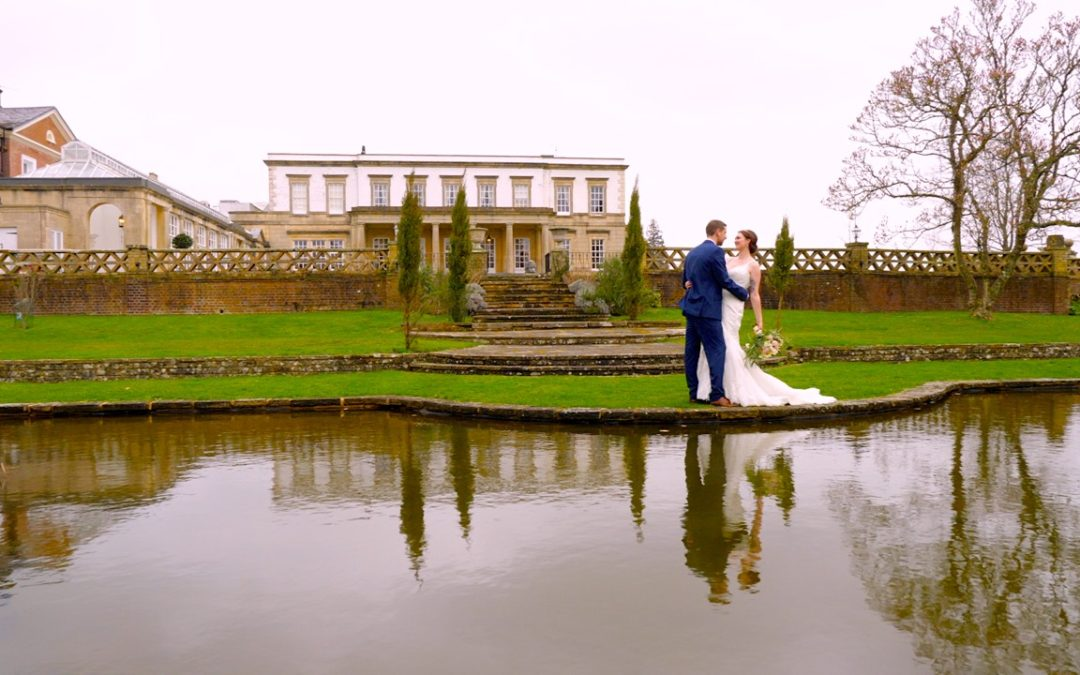 Megan and David got married at Buxted Park