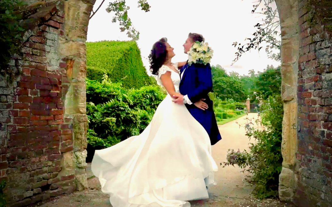 Kelly and James marriage at Penshurst placed filmed by Cut Above Productions - videographers